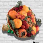 Новогодний-букет-с-мандаринами-min